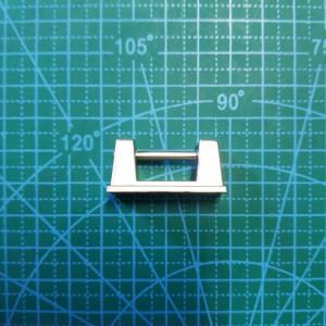 Ручкодержатель  20 мм матовый никель