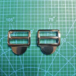 Фастекс металлический 25 мм никель