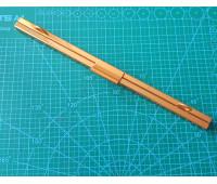 рамка металлическая на винтах на женскую сумку 23 см старое золото