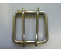 Сварная пряжка 45*40*5,5 мм никель