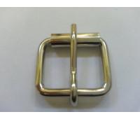 Сварная пряжка 25*22*4 мм никель