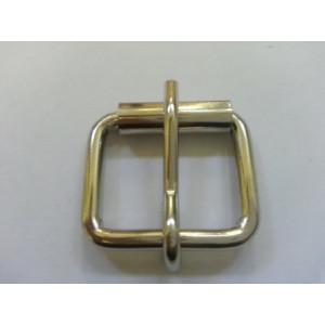 Сварная пряжка 25*22*4 мм никель.