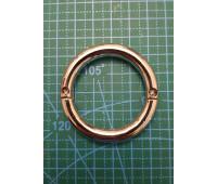 Кольцо 40 мм 1506 никель разъемное на винтах толщина 6мм