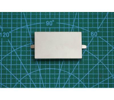 шильда 5*3 см никель 9892