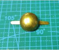 пукля 18 мм бронза