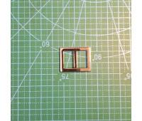 пряжка 15 мм пятистенок 773 никель