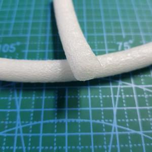 Шнур вспененный для ручек в сумку диам.9,5-10,0 мм(рулон 310 метров)
