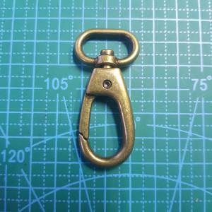 15 мм Карабин  бронза арт.1012