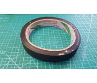 10 мм скотч на тканевой основе (19 метр. 23шт.в уп.)черный