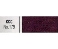 молния 179 металл, зуб никель. ткань бордо