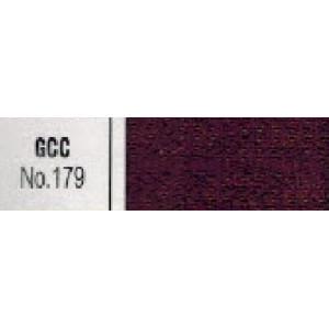 Молния металлическая №5 цвет 179 металл, зуб никель. ткань бордо