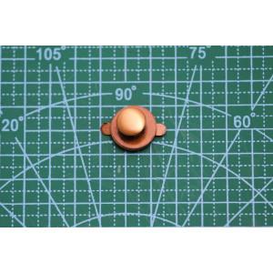 магнитн.кнопка+хольнитен 18 мм бронза