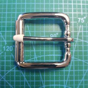Стальная  пряжка на поясной ремень 40мм XY2