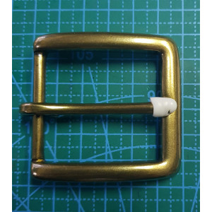Латунная пряжка на ремень 40мм XY56-4-40 латунь