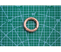 Кольцо 20 мм 5547 никель разъёмное